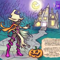 Kinktober 1 Witch